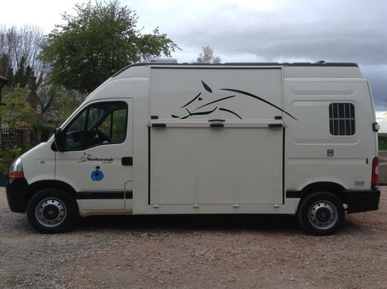 MARLBOROUGH SPORT 3.5T - 2 HORSE, REAR FACING HORSEBOX