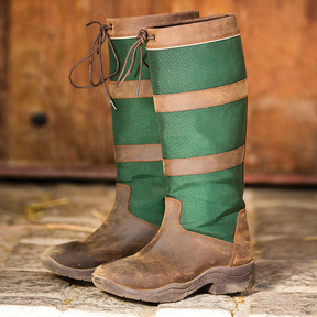 Rambo - Original Pull Up Country Boots - Wide Calf