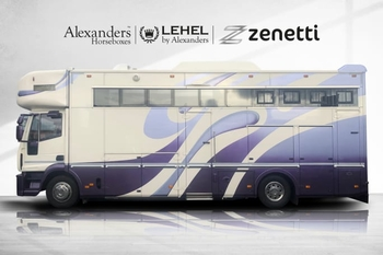 LEHEL 15T IVECO AUTOMATIC 5/6 BERTH 4 STALL 2012
