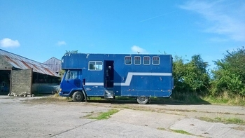 REDUCED TO SELL - Very reliable 7.5 tonne horse box