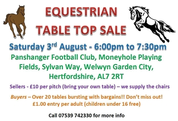 Equine table top sale