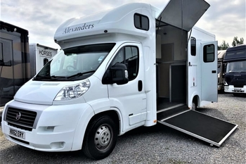 Alexanders Grand National 4.5T Fiat 2 stall 2012