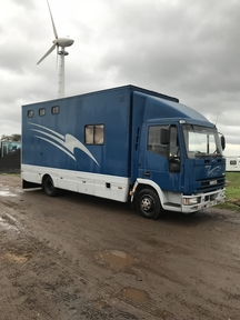Ford Iveco 7.5t Horsebox T reg