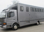 10.5 Ton Mercedes Benz Atego Professional transport truck. Whittingham build. Stalled for 6. Rear air suspension.. Cut through cab