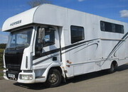 2004 Iveco Eurocargo 75E17 7.5 Ton Coach built by Wren. Stalled for 4 with smart living. Sleeping for 4..