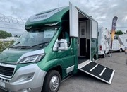 3500kg Horsebox with rear emergency exit - The Blackdown