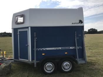 Humbaur Rapid horse trailer