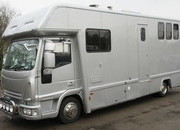 2008 Iveco Eurocargo 75E16 Coach built by John Oats. Stalled for 3 with smart luxury living