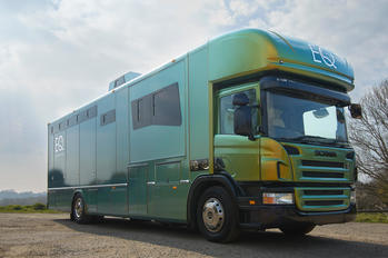 Stunning Colour Changing EQ Designed 6 Berth / 5 Stall Scania