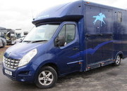 2011 Renault Master Coach built by Kevin Parker. Stalled for 2 rear facing.. Well strong built 3.5 ton