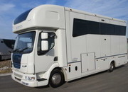 2009 58 DAF LF 160 Coach built by Bethmans.. Stalled for 3 with full luxury living.. Underfloor storage.. Huge specification