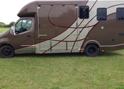 4.5 tonne Vauxhall Movano twin rear wheels with living.