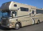 Scania 340 18 Ton Coach built by JJ Woods. Stalled for 5 with full luxury living.. 6 berth