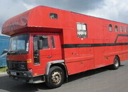 1998 Volvo FL6 HGV 18 ton Coach built Chadwick horseboxes. Stalled for 4 with large living.. Years MOT upon sale
