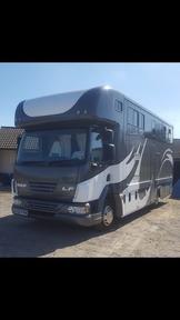 Luxury 7.5 tonne daf horsebox