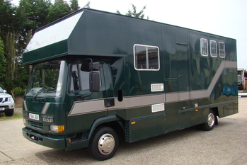 'T' Reg Daf 45-130 Turbo with Thorpe Allrounder 3 stall