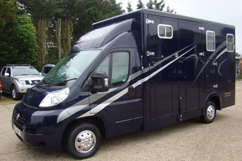 2012 Fiat Ducato with NEW Thorpe Duo 2 stall