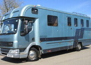 2013 DAF LF 210 12 Ton Oakley Supreme. Stalled for 3/4 with smart living. Sleeping for 4. Toilet and shower