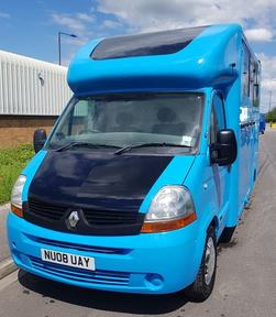 REDUCED Genuine FOXY with only 48k Originally Miles 2008 Coachbuilt Renault Master 3.5Ton
