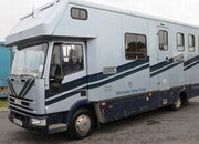 Iveco Eurocargo 75E15 Coach built by Whittaker. Stalled for 3 with smart luxury living