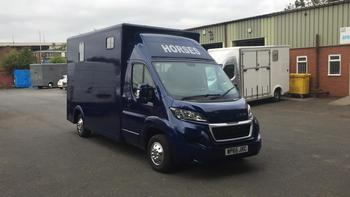 2015 PEUGEOT BOXER, 3.5T NEW BUILD, READY TO DRIVE AWAY @JMS HORSEBOXES