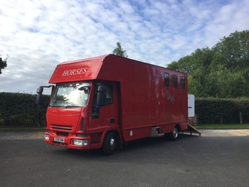 7.5 t Iveco eurocargo only 54000 miles!! Non hgv