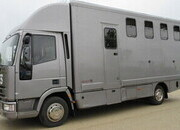 1999 Iveco Eurocargo Select Professional transport truck. 7.5 ton. Stalled for 4, Rear air suspension.. Excellent condition