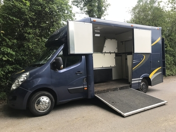 3.5T Vauxhall 1000kg payload coach built by Bethmans