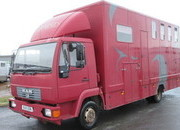 2002 51 MAN 8163 Professional Conversion by Galaxy Horseboxes. Stalled for 3 with smart living.. Full tilt cab