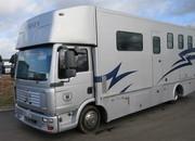 2006 MAN TG Coach built by Lehel. Stalled for 3 with full luxury living.. Full tilt cab..