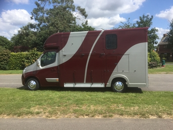 Pre Owned Ascot 2 , Renault Master 65 Reg, 39,000 miles  £26,950 , Separate day living . Sleeps 3