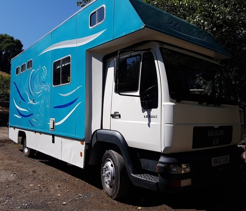 2002 MAN 7.5T NEW MOT
