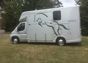 Ascot 2, 3.5 tonne, Fiat Ducato 13Reg, 25,000 miles with Electric Pack, £31,950, Chrome Partition long stalls for 2,Weekender Body, Sleeps 3
