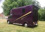 Ascot 2, 3.5 tonne, Super Light, big payload, Citroen Relay new shape, 13Reg, 55,000 miles with Electric Pack, £22,950,Sat Nav , Air Con, Chrome Stallion Partition long stalls for 2 ,with separate Day Living/Tack Area, New MOT