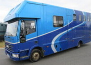 Iveco Eurocargo Coach built by Whittingham. Stalled for 3/4 with smart living.