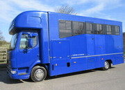 2007 DAF LF 7.5 Ton Coach built by Empire Coach builders. Superior model, Stalled for 3 with smart living, Sleeping for 4. Full tilt cab