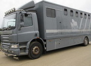 2006 DAF CF 65 Professional Horse transporter. Stalled for 7 with changing area.. Strong well built working truck
