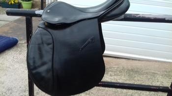Falcon Leather Saddle