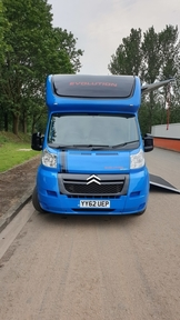 Citroen Relay 3.5t uprated to 3.8t Horse Box