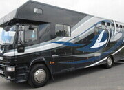 2003 Iveco Eurocargo 18 Ton Coach built by Solitaire. Stalled for 5 with large luxury living.. Metallic paint