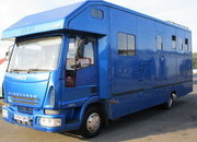 2005 Iveco Eurocargo 75E17 Coach built by High-equi horseboxes. Stalled for 3 with smart living