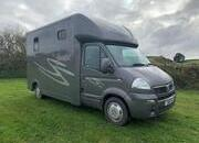 Pre-Owned Vauxhall Movano Horsebox 3500kg