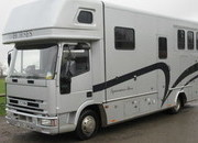 2001 Iveco Eurocargo Coach built by Equicruiser. Stalled 3 with full luxury living. 5 berth.. Only 46,564 Miles