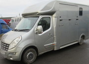 2012 61 Renault Master J.P Long Stall model. New Build. Stalled for 2 rear facing..