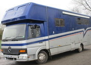 Mercedes Benz Atego Coach built by Tristar. Supreme Model. Stalled for 3/4 with full luxury living.. Full tilt cab