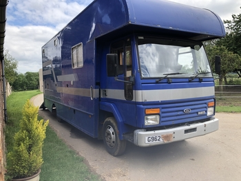 7.5t horse lorry, 3t payload REDUCED