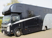2013 62 Isuzu N75 190 Coach built by McPhie Horseboxes. Stalled for 3 with full living. NEW BUILD....