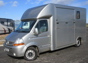 2010 Renault Master 3.5 Ton J.P Coach built Long Stall Model. Stalled for 2 rear facing... NEW BUILD