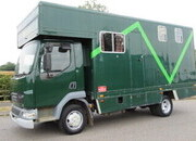 2006 DAF LF 150 7.5 Ton Professional conversion by C & S Horseboxes. Stalled for 3 with smart living.. tilt cab