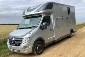 August 2020 new build, 3.5 ton GDR Horseboxes